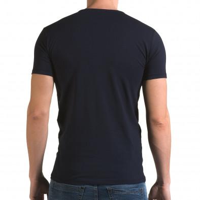 Tricou bărbați Lagos albastru il120216-8 3