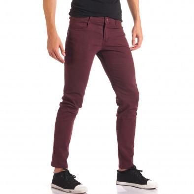 Pantaloni bărbați G-9 roșii it150816-4 4