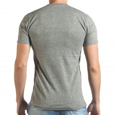Tricou bărbați Madmext gri tsf060416-5 3