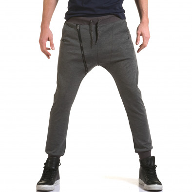 Pantaloni baggy bărbați Jack Berry gri it090216-49 2
