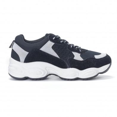 Pantofi sport de dama negre it230418-46 2