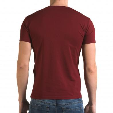 Tricou bărbați Lagos roșu il120216-7 3