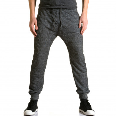 Pantaloni baggy bărbați Dress&GO gri ca190116-29 2
