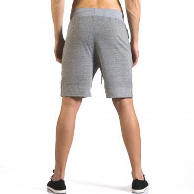 Pantaloni scurți bărbați Furia Rossa gri it110316-76 3