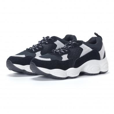 Pantofi sport de dama negre it230418-46 3