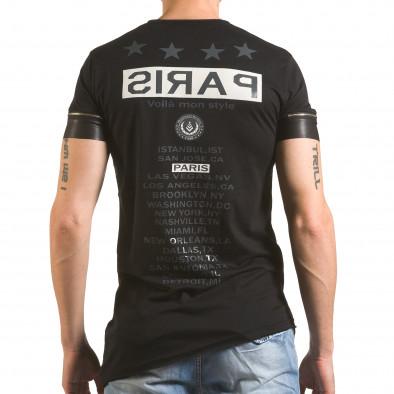 Tricou bărbați Madmext negru tsf060416-4 3