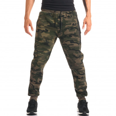 Pantaloni bărbați New Black camuflaj it160816-29 4
