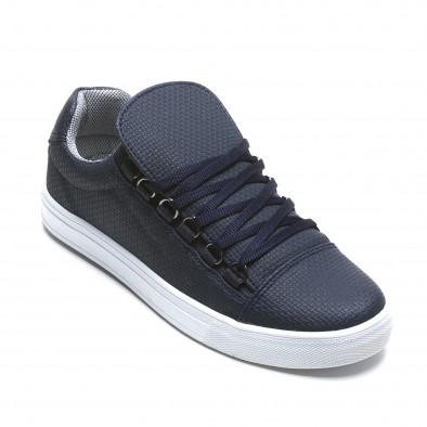 Pantofi sport bărbați Coner albaștri il160216-6 3