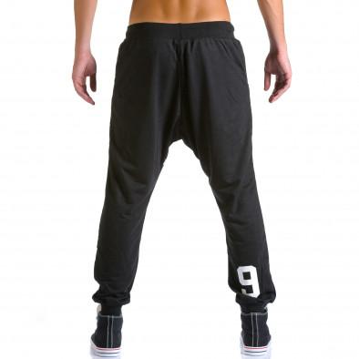 Pantaloni baggy bărbați Eadae Wear negri ca260815-30 3
