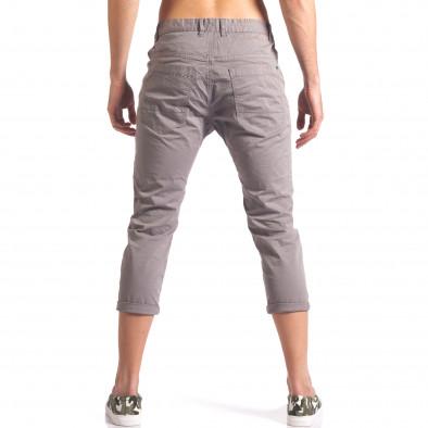 Pantaloni bărbați TMK gri it250416-27 3