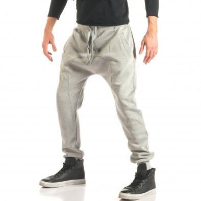 Pantaloni baggy bărbați The Power gri it181116-46 4
