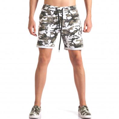 Pantaloni scurți bărbați Millions camuflaj it250416-7 2