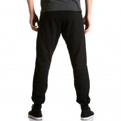 Pantaloni baggy bărbați DelPiero negri ca190116-25 3