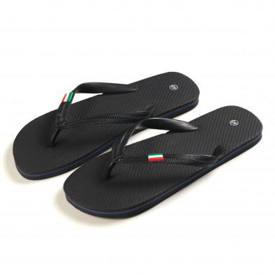 Papuci bărbați FM negri it150616-5 2