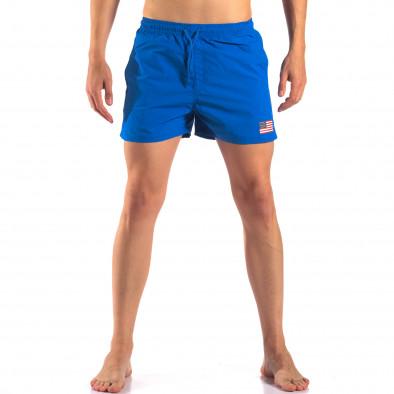Costume de baie bărbați New Mentality albastru it150616-27 2