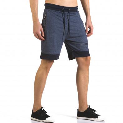 Pantaloni scurți bărbați Furia Rossa albaștri it110316-77 4