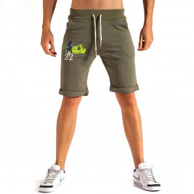 Pantaloni scurți bărbați Lure 2 verzi it200614-20 3