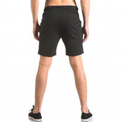Pantaloni scurți bărbați Furia Rossa negri ca050416-37 3