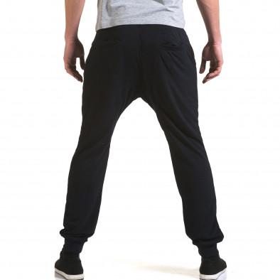 Pantaloni baggy bărbați Dress&GO albaștri it090216-40 3