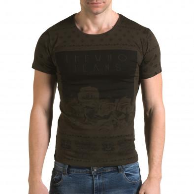 Tricou bărbați Lagos verde il120216-54 2
