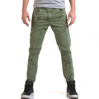 Pantaloni bărbați Maximal verzi it090216-7 2