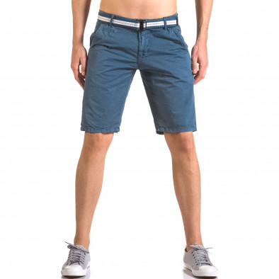 Pantaloni scurți bărbați Top Star albaștri ca050416-65 2