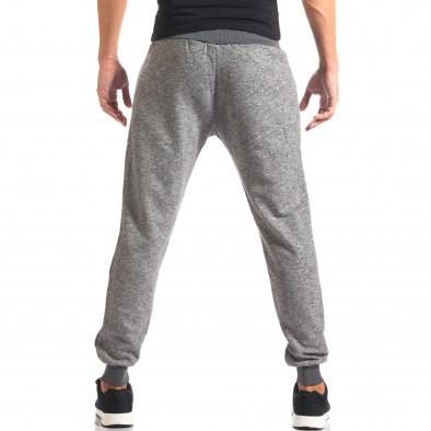Pantaloni sport bărbați New Mentality gri it160816-26 3