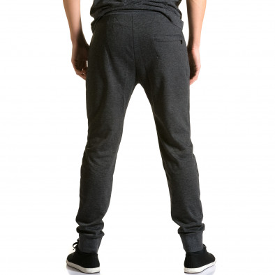 Pantaloni baggy bărbați Furia Rossa negri ca190116-16 3