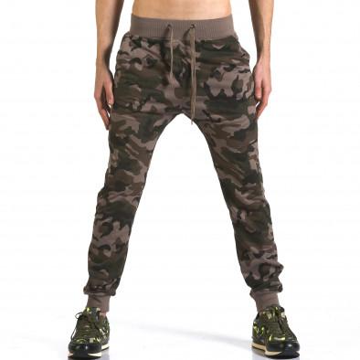 Pantaloni baggy bărbați Dress&GO camuflaj it110316-6 2