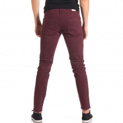 Pantaloni bărbați G-9 roșii it150816-4 3