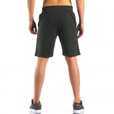 Pantaloni scurți bărbați Social Network verzi it160616-6 3