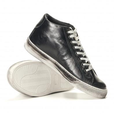 Teniși bărbați Shoes in Progress negri it141016-4 4