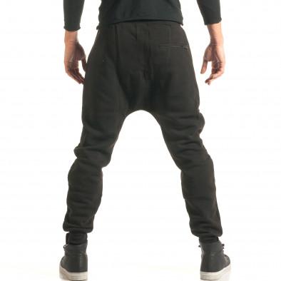 Pantaloni baggy bărbați Ross Kemp negri it181116-50 3