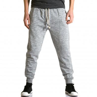 Pantaloni baggy bărbați Enos gri ca190116-31 2