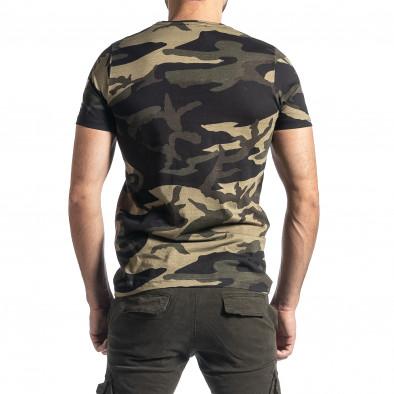 Tricou bărbați Lagos camuflaj tr010221-22 3