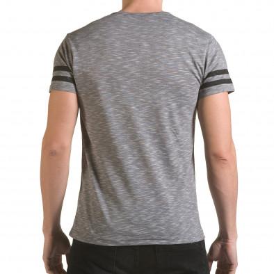Tricou bărbați Franklin gri il170216-4 3