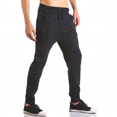 Pantaloni baggy bărbați B-Men albaștri ca050416-53 4