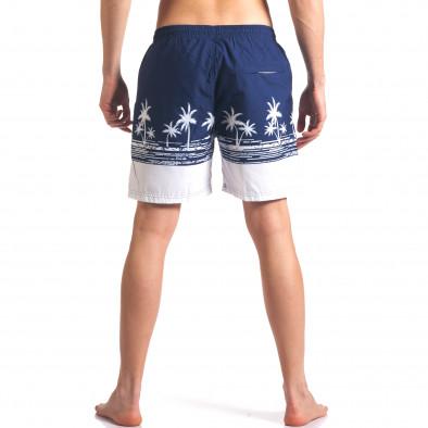 Costume de baie bărbați Austar Jeans albastru it250416-42 3