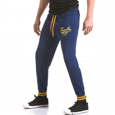Pantaloni bărbați Franklin albastru il170216-134 4