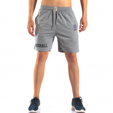 Pantaloni scurți bărbați Marshall gri it160616-4 2
