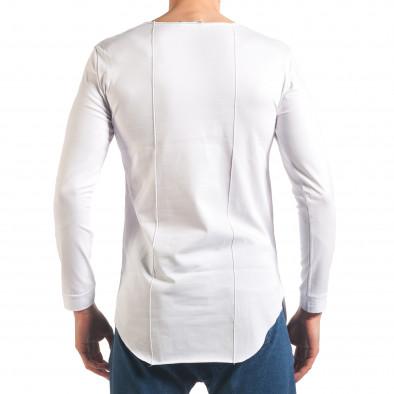 Bluză bărbați Black Fox albă it250416-79 3