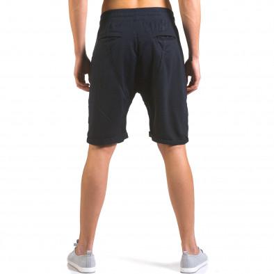 Pantaloni scurți bărbați Dress&GO albaștri it160316-23 3