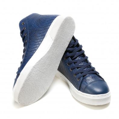 Pantofi sport bărbați Niadi albaștri it100915-6 4