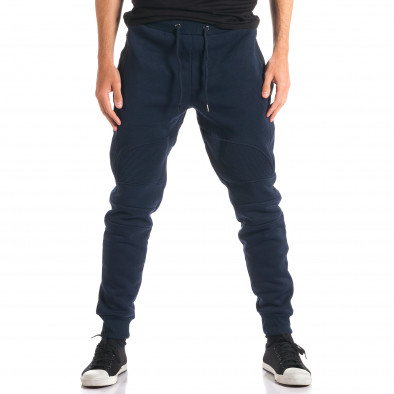 Pantaloni baggy bărbați Top Star albaștri ca280916-12 2
