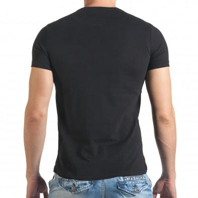 Tricou bărbați Just Relax negru il140416-42 3