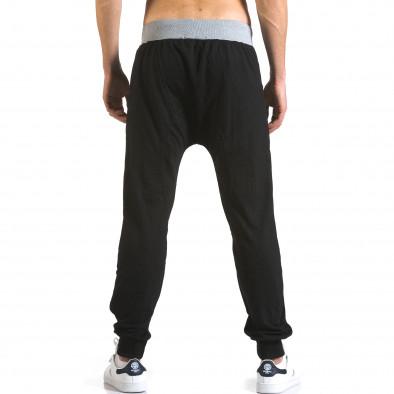 Pantaloni baggy bărbați Realman negri it110316-11 3