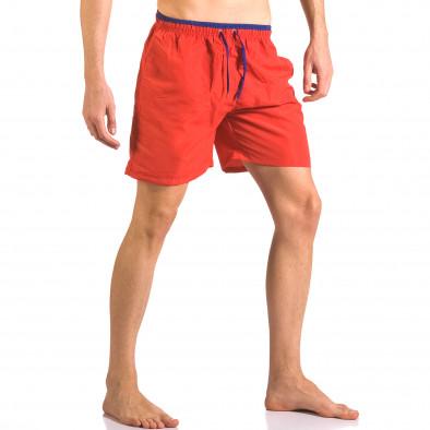 Costume de baie bărbați Yaliishi roșu ca050416-27 4