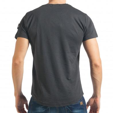 Tricou bărbați Madmext gri tsf020218-43 3