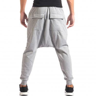 Pantaloni baggy bărbați Dontoki gri it160816-24 3