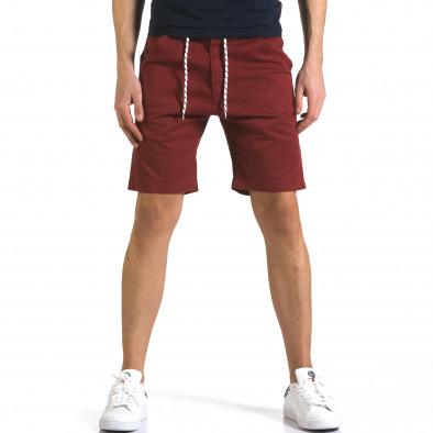 Pantaloni scurți bărbați Marshall roșii it110316-38 2